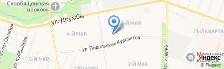 Центр упаковки на карте Йошкар-Олы