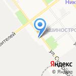 1 отряд ФПС по Республике Марий Эл на карте Йошкар-Олы