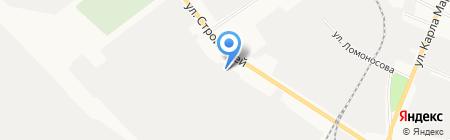 Волга-Бункер на карте Йошкар-Олы