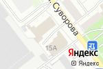Схема проезда до компании Виста-М в Йошкар-Оле