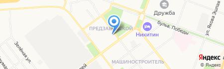 Учебный центр Мариэнергонадзор на карте Йошкар-Олы