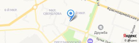 Старый Георг на карте Йошкар-Олы