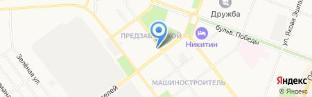 Мастерская по ремонту обуви и кожгалантереи на карте Йошкар-Олы