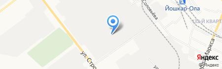 Блэйд на карте Йошкар-Олы