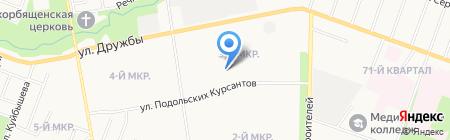 Подольский на карте Йошкар-Олы