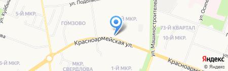 МФО Рифор на карте Йошкар-Олы