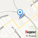 АвтоЛюкс на карте Йошкар-Олы