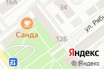 Схема проезда до компании Савт Плюс в Йошкар-Оле