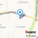 Гимназия им. Сергия Радонежского г. Йошкар-Олы на карте Йошкар-Олы