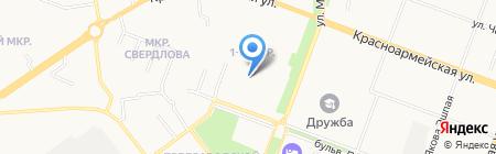 Кристаллики.ру на карте Йошкар-Олы