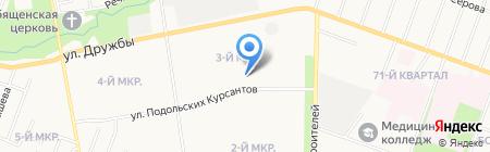 Детский сад №10 на карте Йошкар-Олы