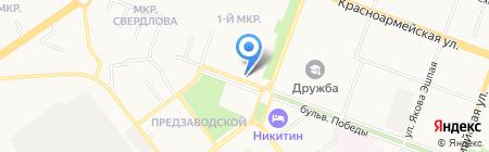 Золотая рыбка на карте Йошкар-Олы