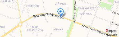Implozia на карте Йошкар-Олы