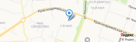 Детская школа искусств №3 на карте Йошкар-Олы