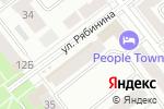 Схема проезда до компании Золотые ножницы в Йошкар-Оле