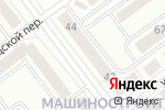Схема проезда до компании Галерея мебели в Йошкар-Оле