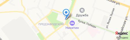Городской пиротехнический центр на карте Йошкар-Олы