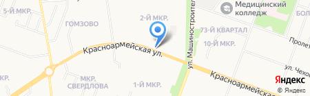 Professional Сosmetics на карте Йошкар-Олы