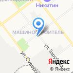 Наша аптека на карте Йошкар-Олы