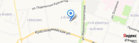 Компьютерный центр на Красноармейской на карте Йошкар-Олы