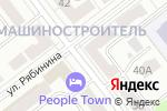 Схема проезда до компании Вера в Йошкар-Оле