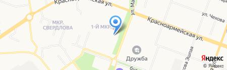 Фарб-М на карте Йошкар-Олы