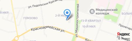 Столица на карте Йошкар-Олы