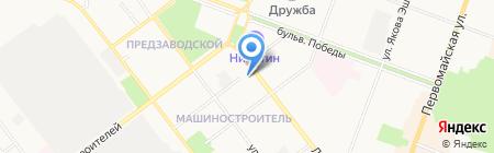 Зубной кабинет на Ленинском проспекте на карте Йошкар-Олы