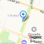 Адвокатский кабинет Копылова О.Б. на карте Йошкар-Олы