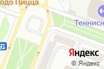 Схема проезда до компании Автопартнер в Йошкар-Оле