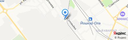 Мулен Руж на карте Йошкар-Олы