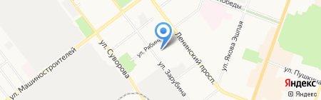 Акрополь на карте Йошкар-Олы