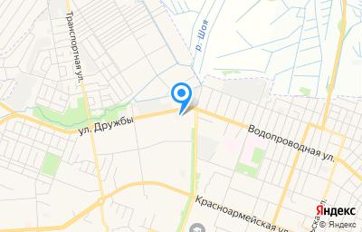 Местоположение на карте пункта техосмотра по адресу г Йошкар-Ола, ул Дружбы, д 107