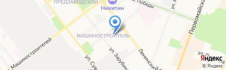 Детский сад №89 на карте Йошкар-Олы