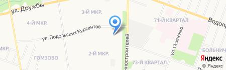 Ёжик на карте Йошкар-Олы
