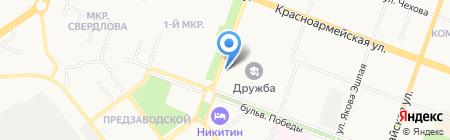 Ледовый дворец Марий Эл на карте Йошкар-Олы