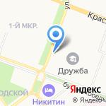 СДЮСШОР по хоккею с шайбой на карте Йошкар-Олы