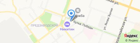 Фьорд на карте Йошкар-Олы