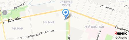 Персональное Решение на карте Йошкар-Олы
