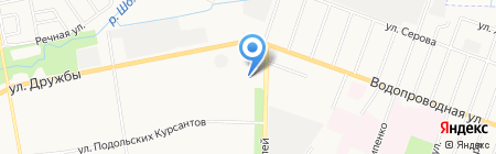 Дровосек на карте Йошкар-Олы