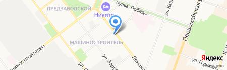 Сеть магазинов цветов на карте Йошкар-Олы