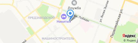Дизайн+Сервис на карте Йошкар-Олы