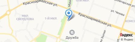 МарГУ на карте Йошкар-Олы