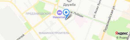 Стройбизнес на карте Йошкар-Олы