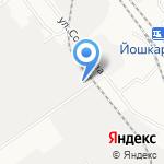 Веб-проект на карте Йошкар-Олы