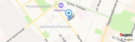 Марий Эл на карте Йошкар-Олы