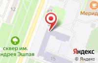 Схема проезда до компании Бункер 90 в Подольске