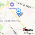 Велл на Ленинском на карте Йошкар-Олы