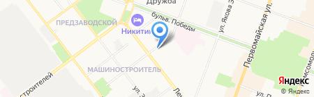 Форт Пласт на карте Йошкар-Олы