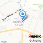 Автотест на карте Йошкар-Олы